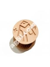 Печатка просфорна Богородицька, діаметр 35 мм